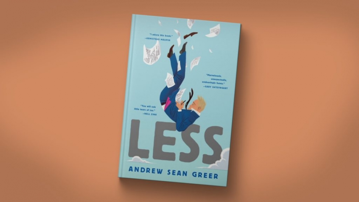 Boekcover van 'Less' van Andrew Sean Greer