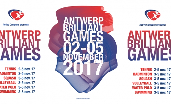 Affiche Antwerp Brilliant Games