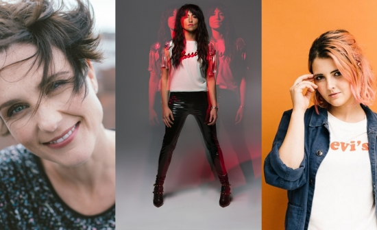Drieluik van Heather Peace, KT Tunstall, Emily Burns