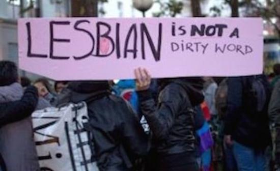 spandoek lesbian is not a dirty word
