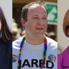 Collage van Sharice Davids, Jared Polis, Tammy Baldwin